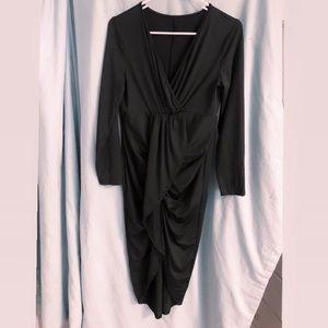 Body Con Dress Black Small ❤️EUC